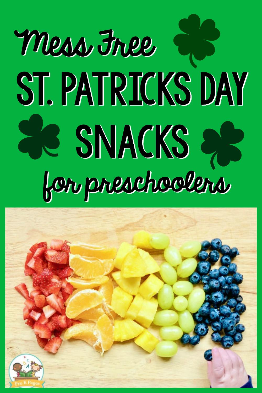 st Patricks day snacks for preschoolers