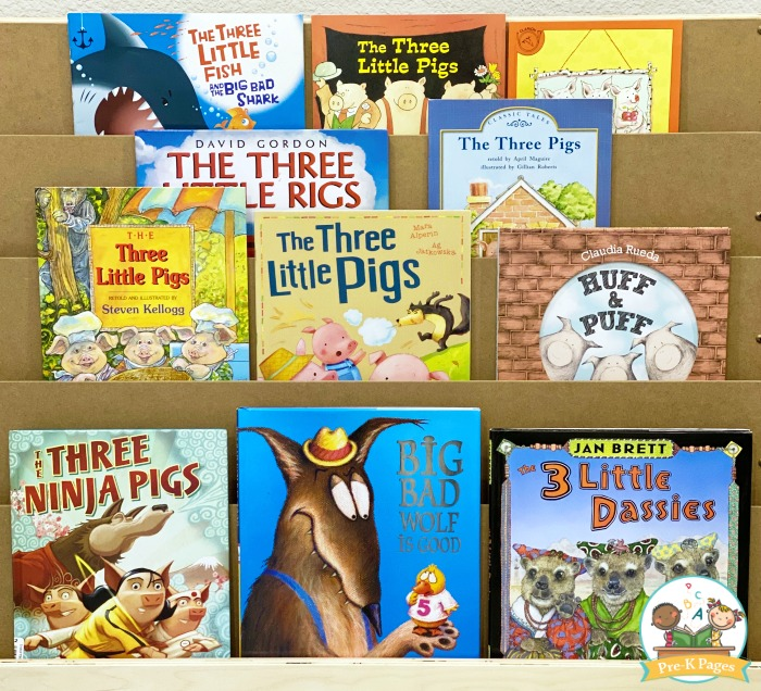 3 Little Pigs Books to Read to Preschoolers