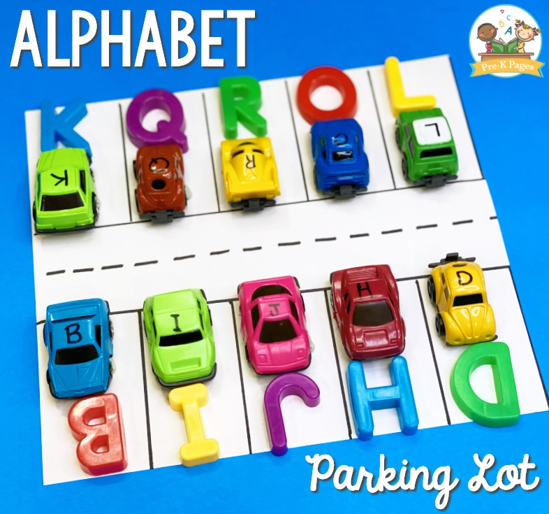Alphabet Parking Lot