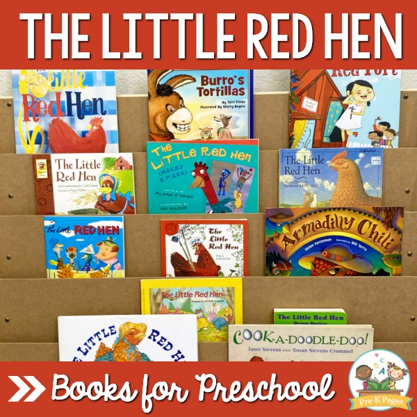 Best Little Red Hen Book for Preschool