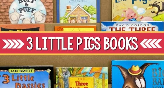 Best Three Little Pigs Books for Preschool