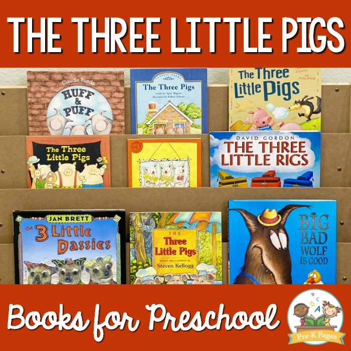 Best Three Little Pigs Books to Read to Preschoolers