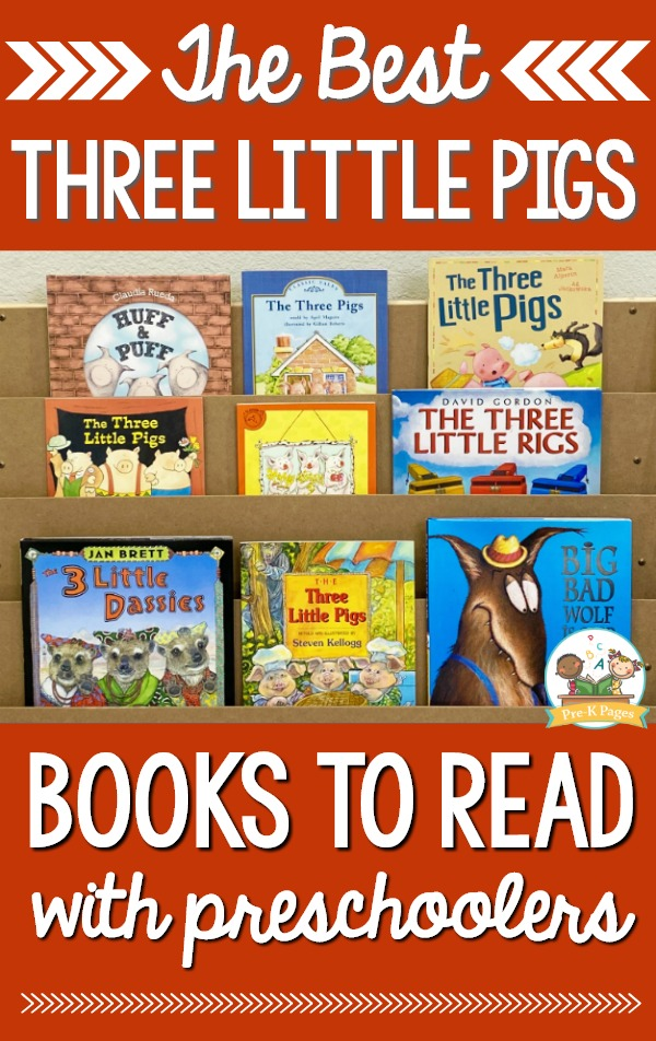 Best Three Little Pigs Books to Read with Preschoolers