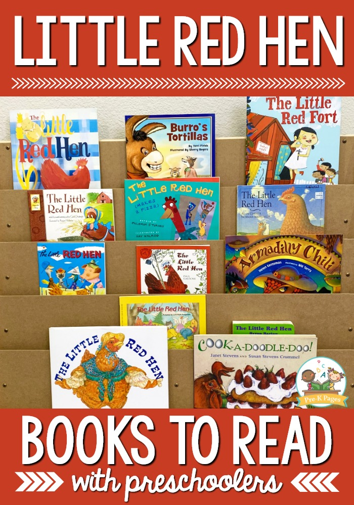 Little Red Hen Books to Read with Preschool Kids