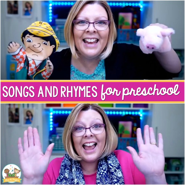 Songs and Rhymes for Pre-K