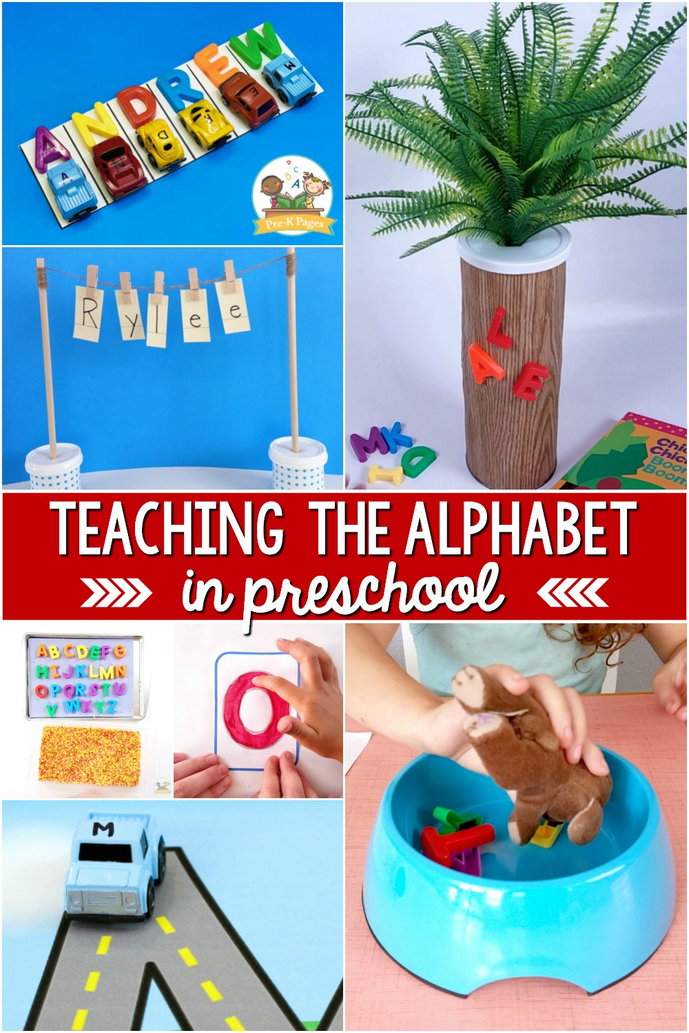 Teaching the alphabet in preschool