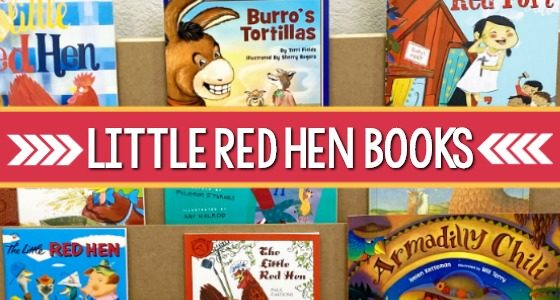 Best Little Red Hen Books for Preschool