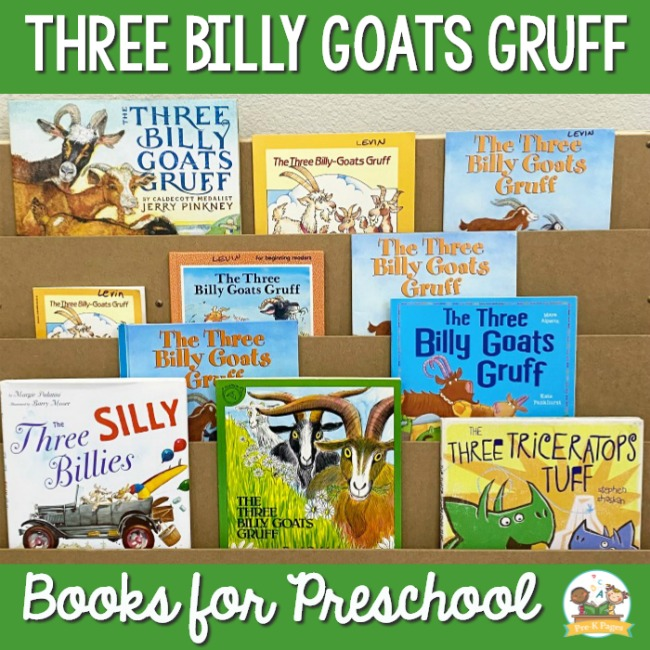 Best 3 Billy Goats Gruff Books