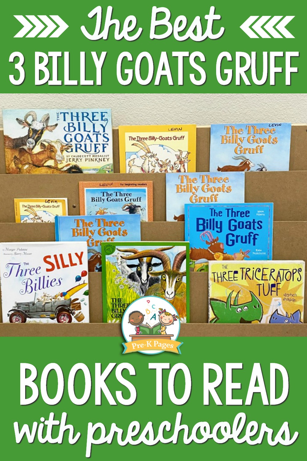 Best Billy Goats Gruff Books for Preschool