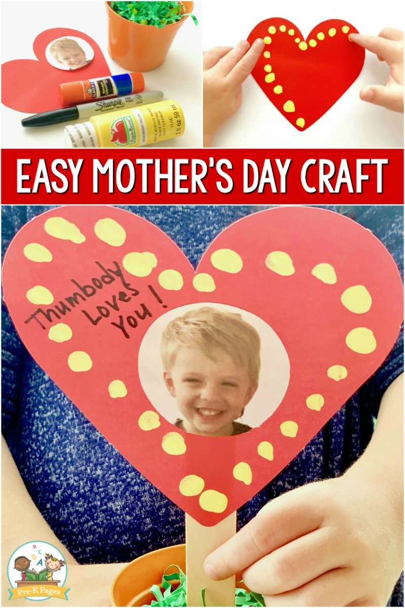 Cute Craft for Mothers Day