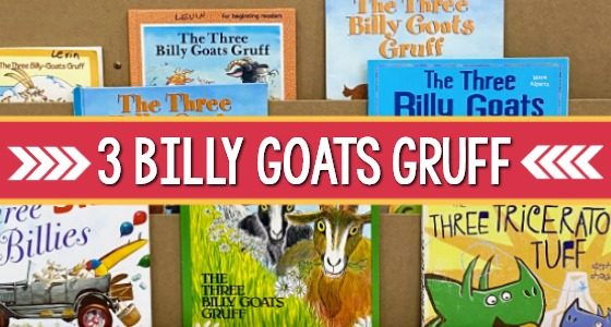 Best Three Billy Goats Gruff Books for Preschool