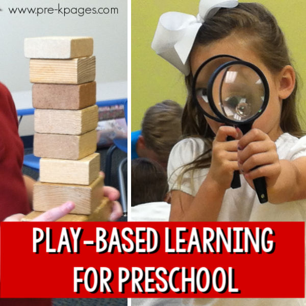 intro play based learning preschool