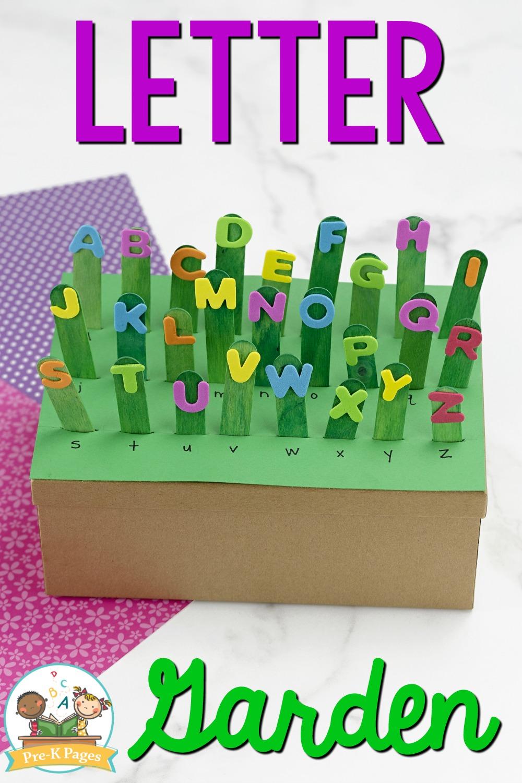 Alphabet Garden Letter Recognition Activity