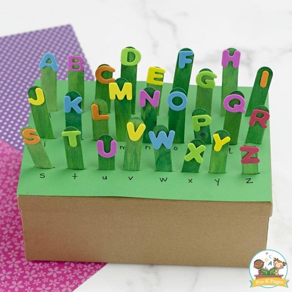 Alphabet Recognition Activity Letter Garden