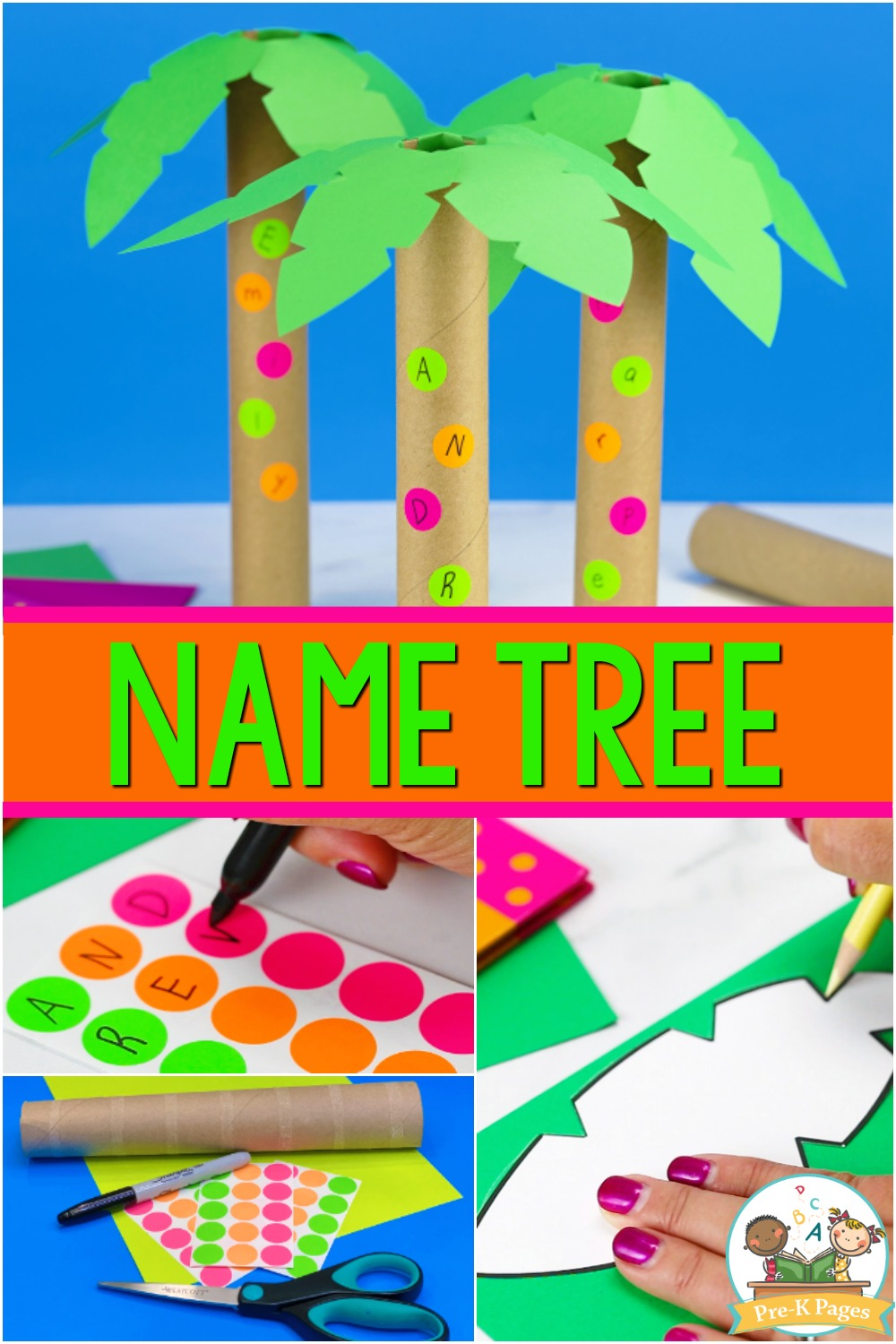 Letter Tree Name Recognition Activity