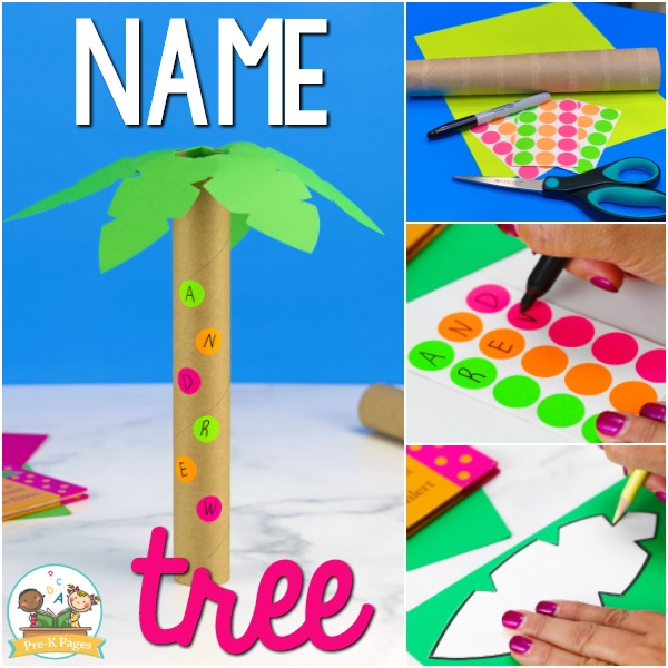 Name Tree Letter Recognition Activity