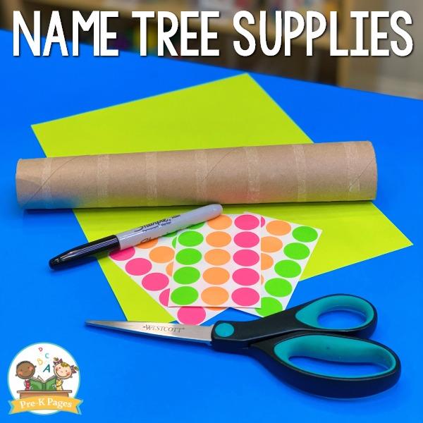 Name Tree Supplies