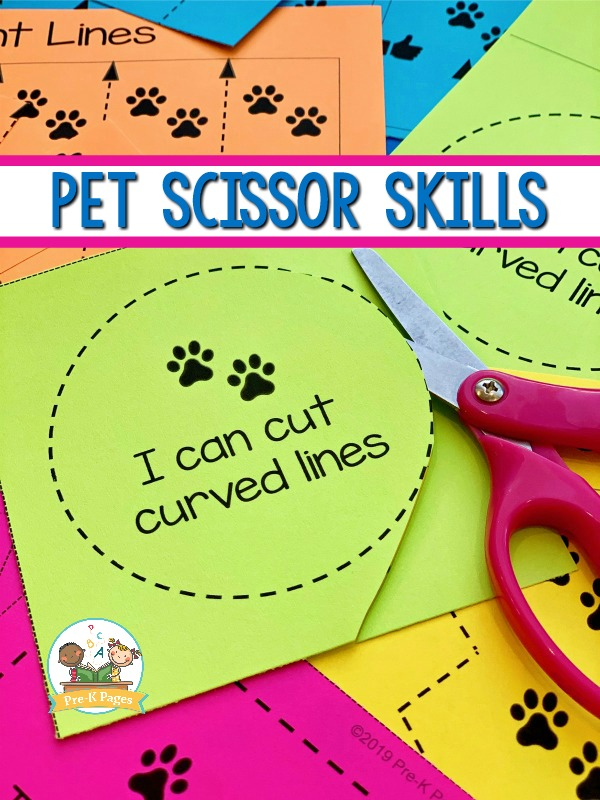 Pet Fine Motor Cutting Skills