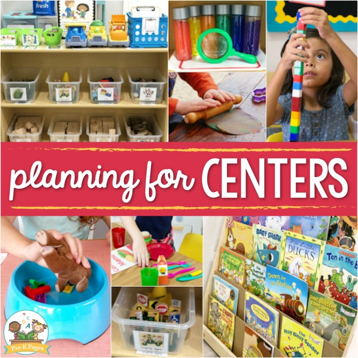 Planning for Preschool Centers