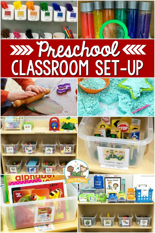 Preschool Classroom Set Up