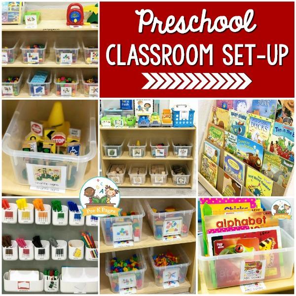 play based classroom setup preschool