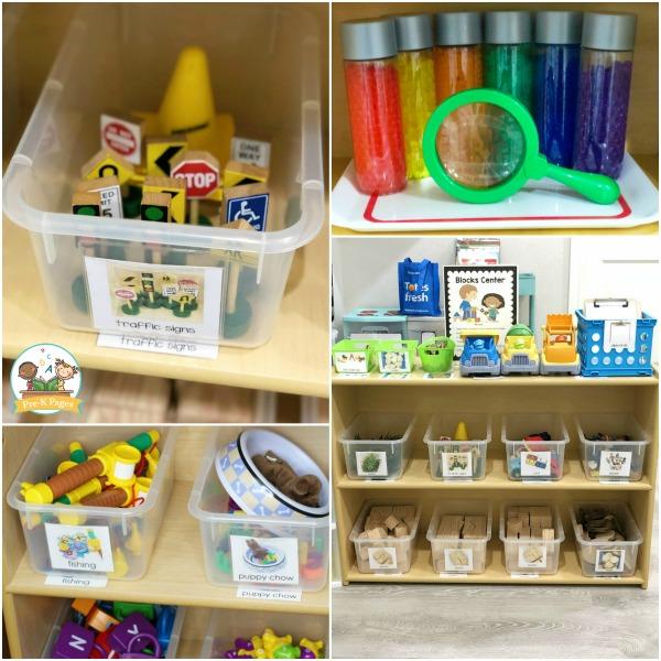 classroom setup early childhood play