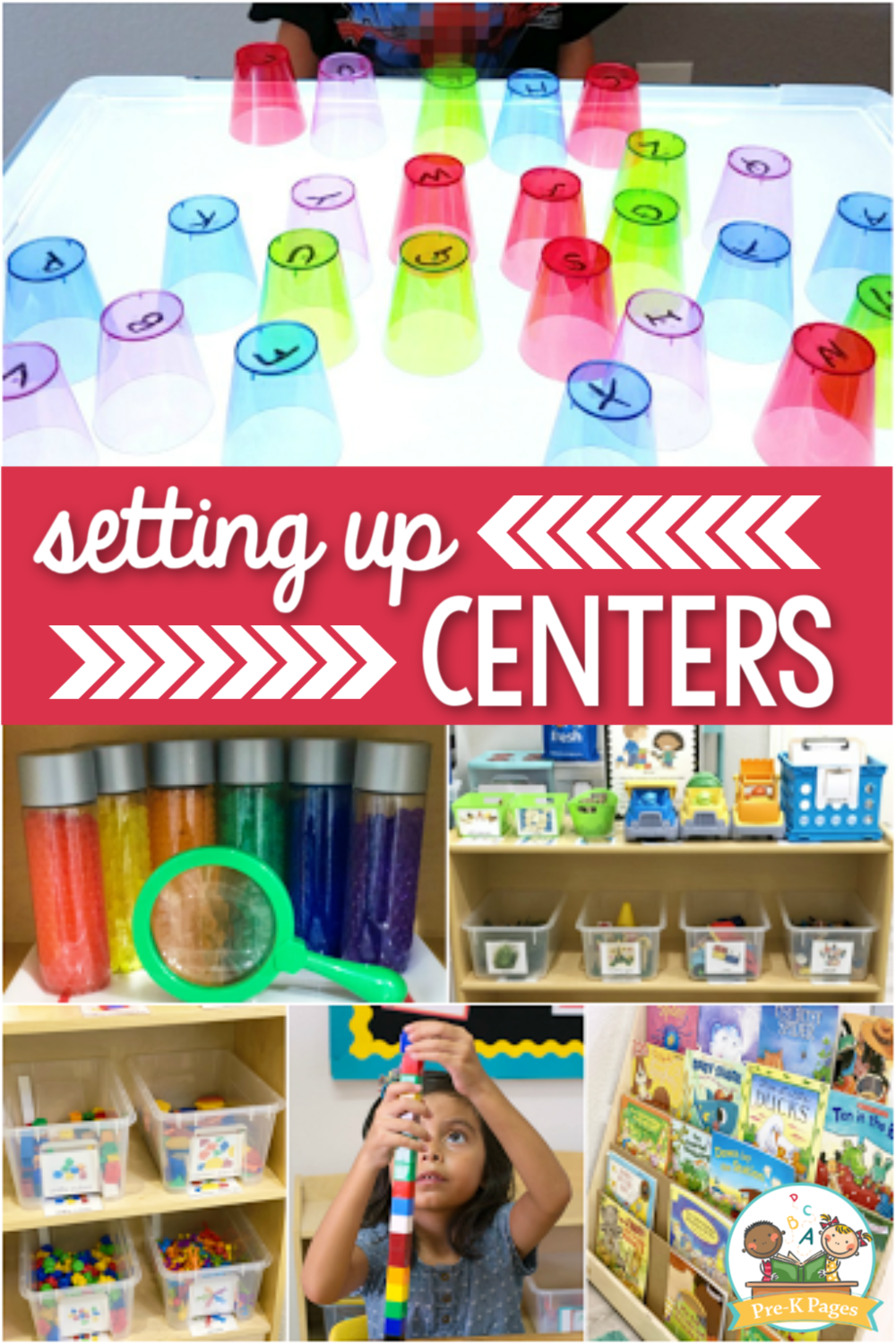 Setting Up Centers in Preschool
