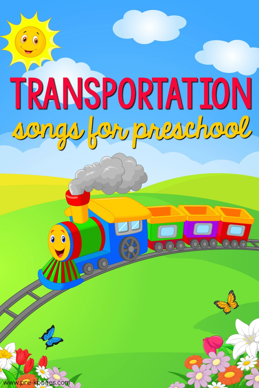 Transportation Songs for Preschool and Pre-K Kids