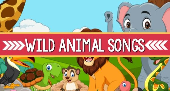 Wild Animal Songs for Preschool | Zoo | Jungle