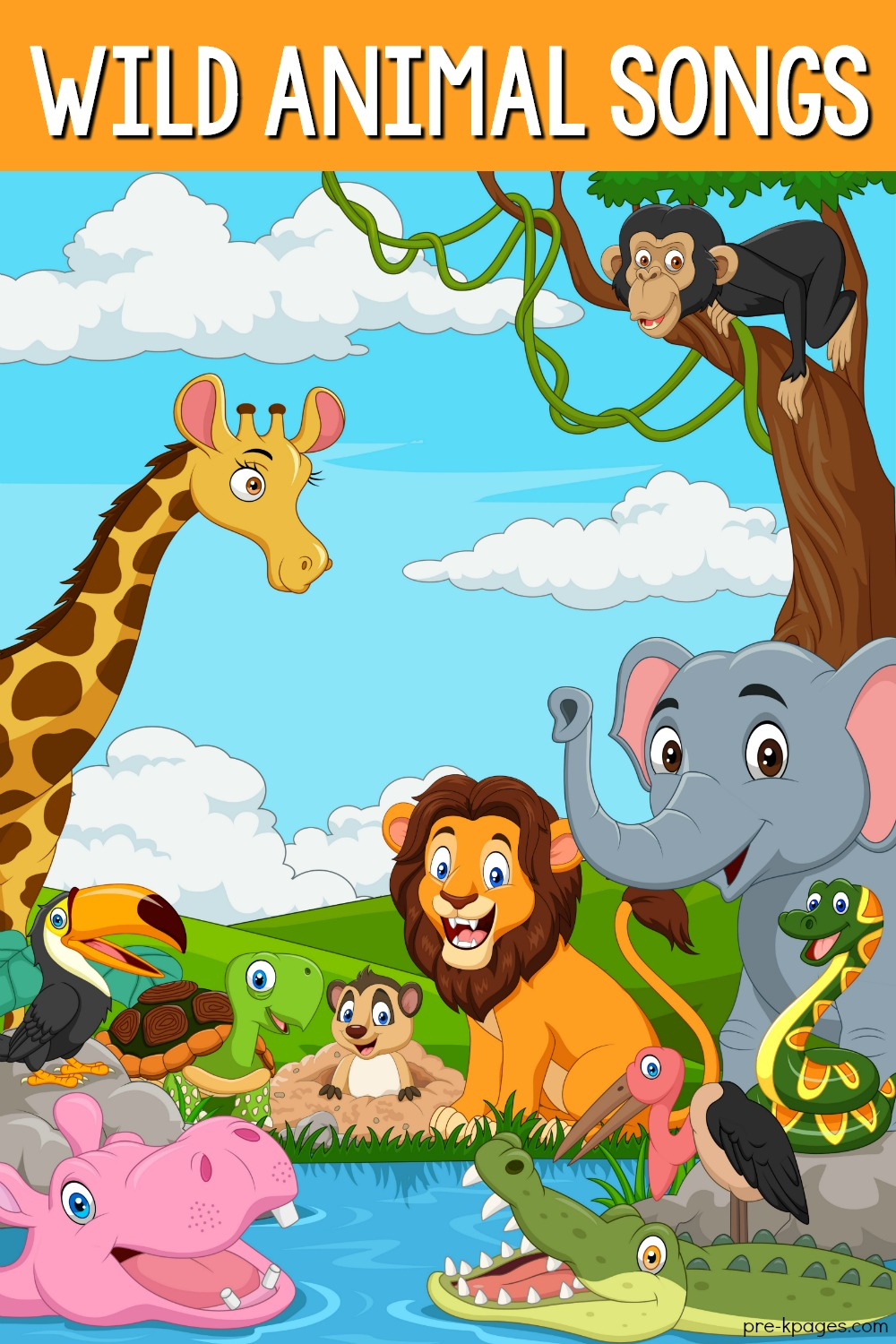 Songs About Wild Animals