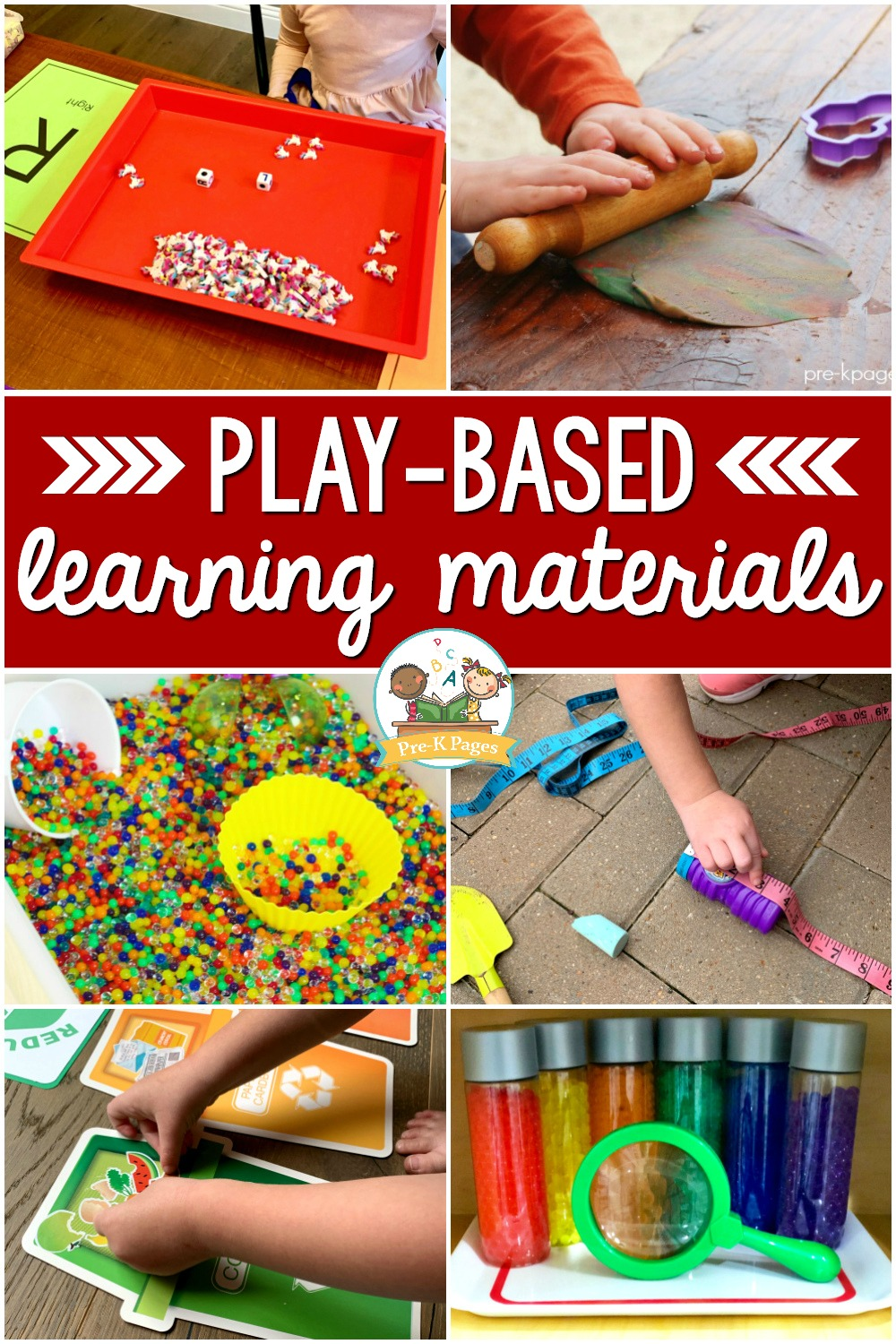 Play Based Learning Materials for preschool