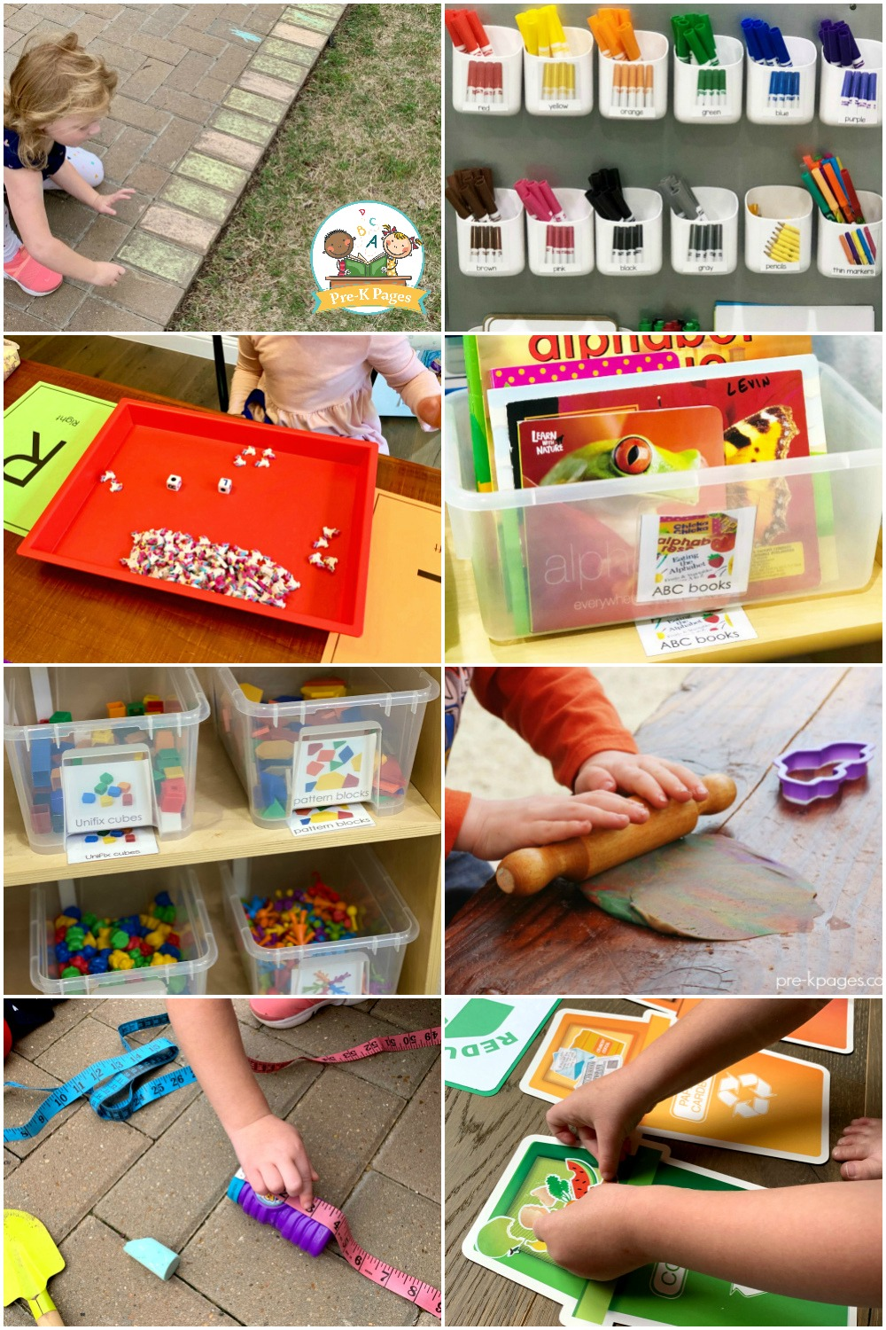 Play Based Materials early childhood classroom