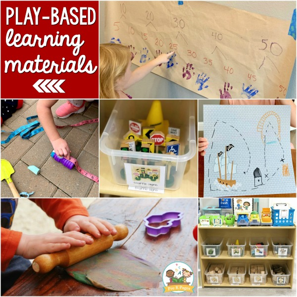Play Based curriculum Materials Pre-K