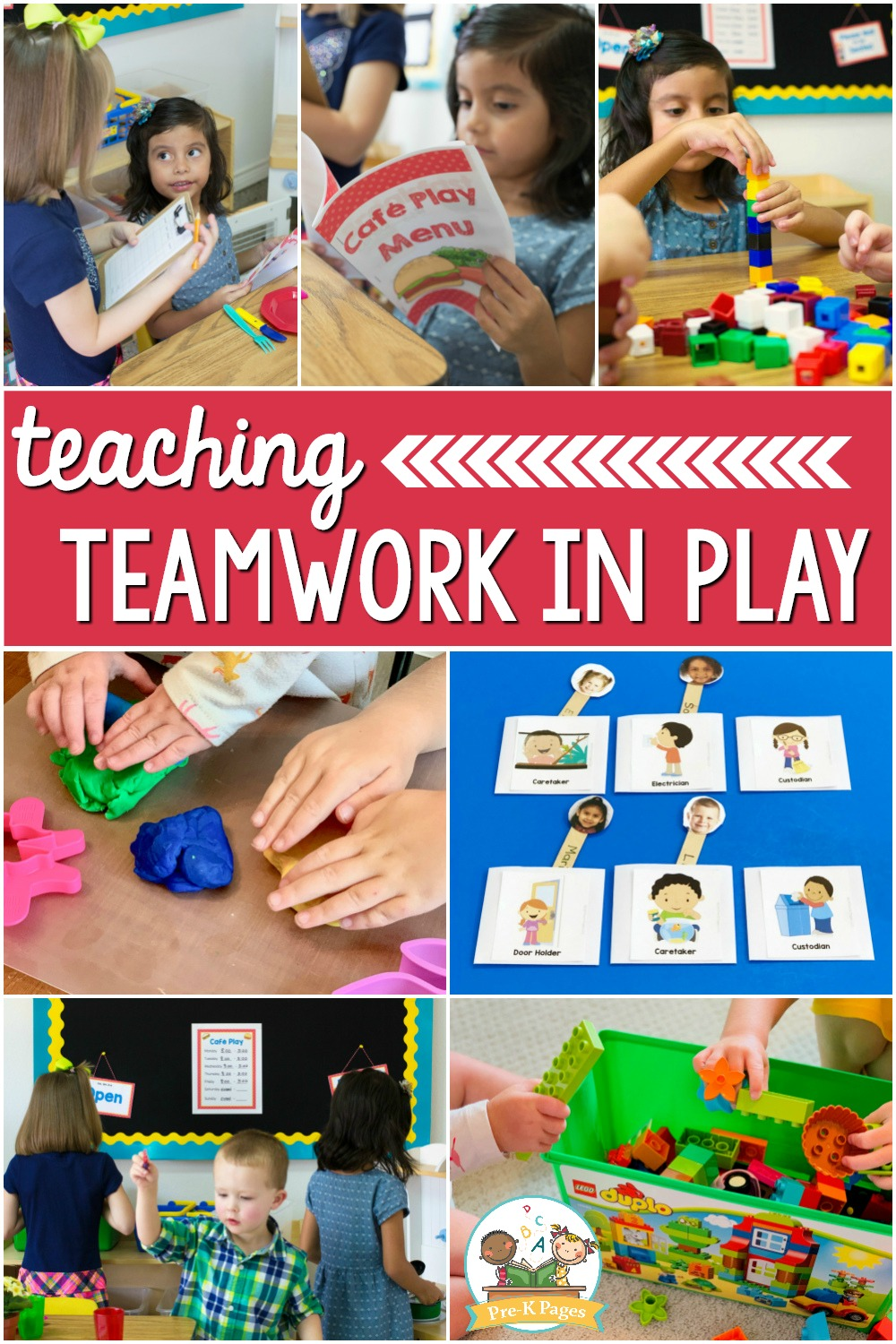 teamwork play-based classroom preschool