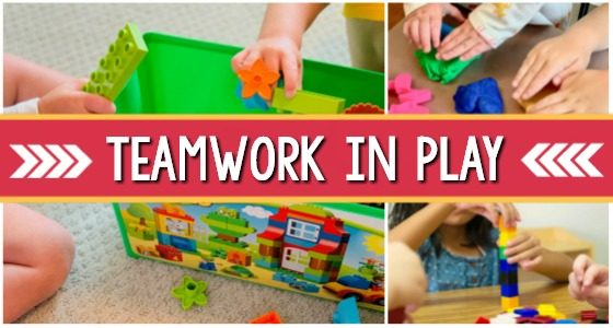 Teaching Teamwork and Collaborative Play in Preschool