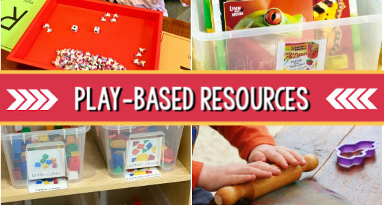 play based resources for preschool learning