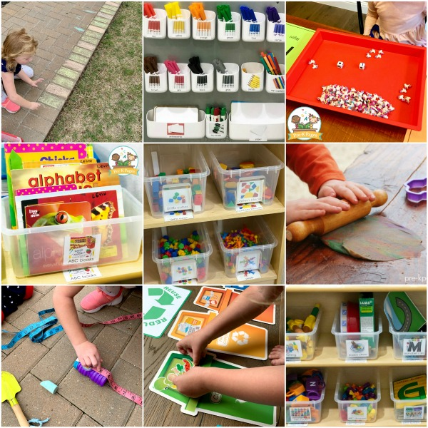 play learning resources for preschoolers