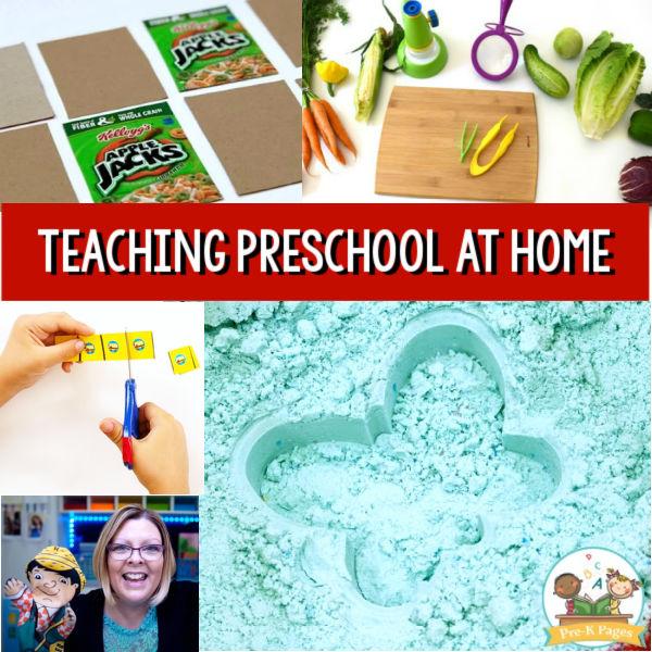 Activities for preschool pre-k home