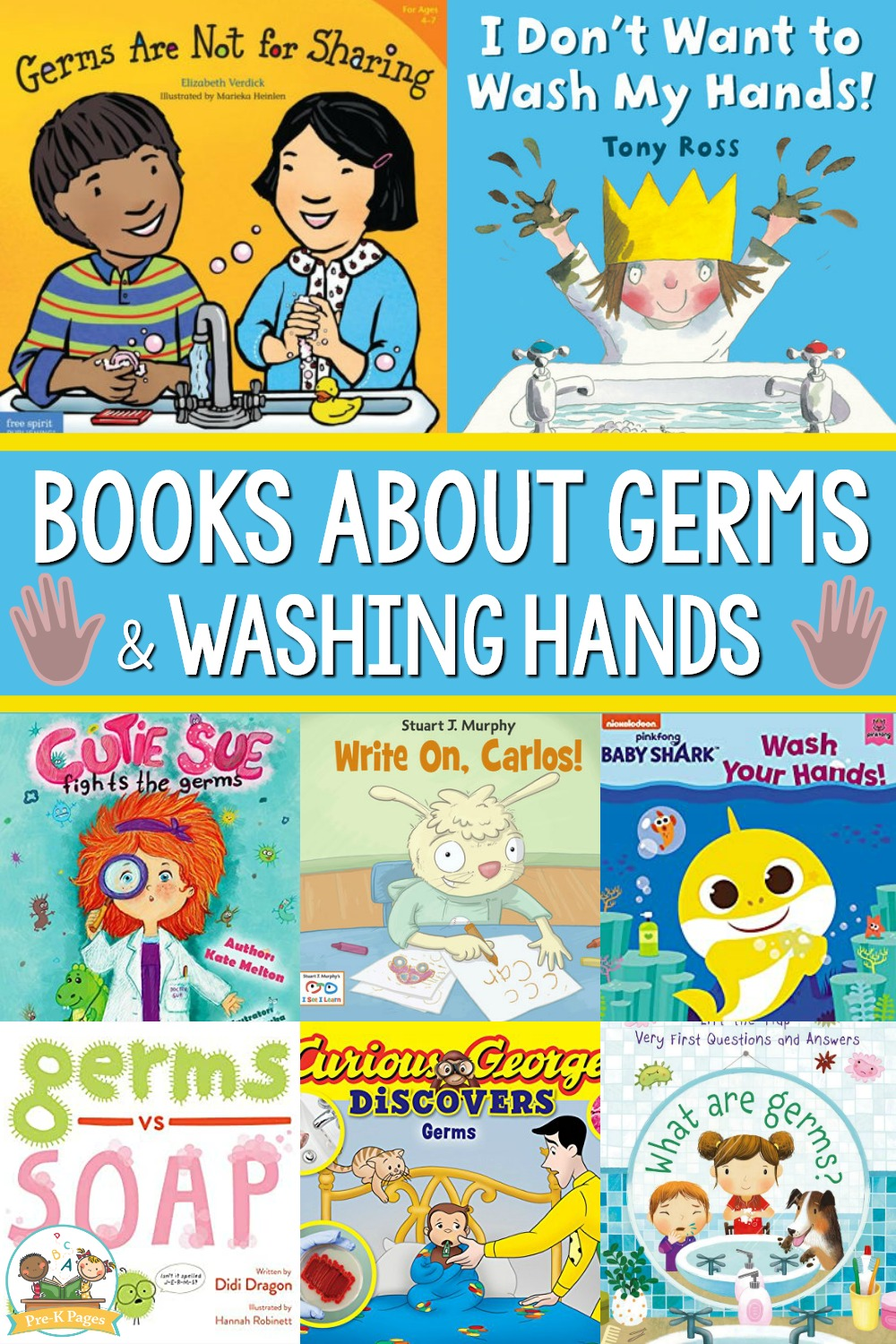 Books About Germs and Washing Hands