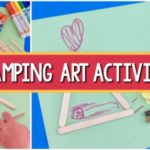 Camping Art Activity