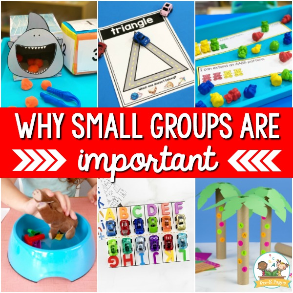 How to do small groups