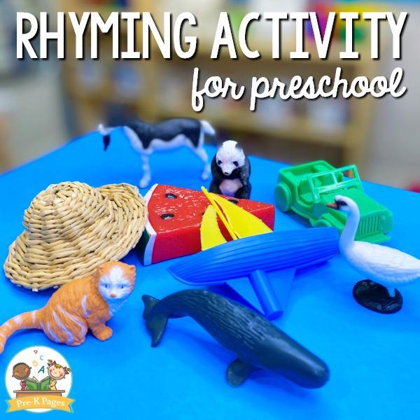 Rhyming Activity for Preschool