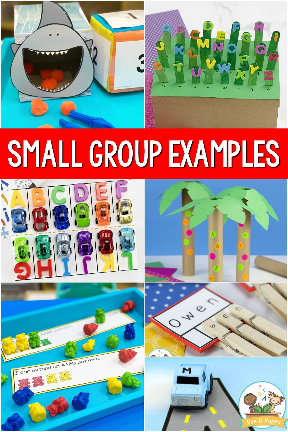 Small Group Activities for Preschool