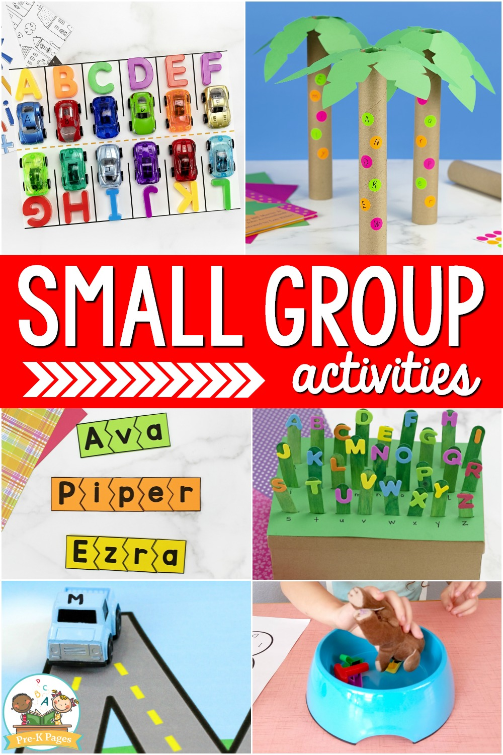 Small Group Activities for Pre-K