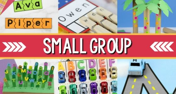 Small Group Activities for Preschoolers