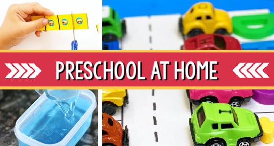 Preschool Activities to Do at Home (or in the Classroom)