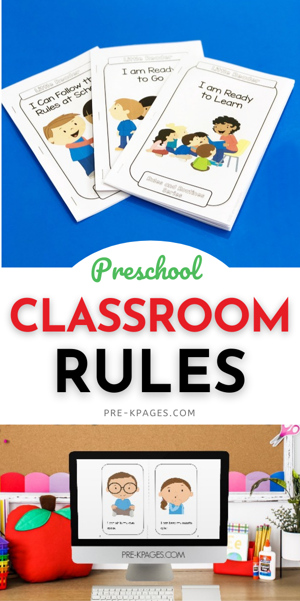 Classroom Rules for Preschoolers
