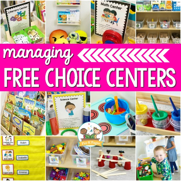 Free Choice Centers in Preschool