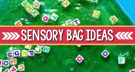 Sensory Bags for Mess-Free Learning and Play