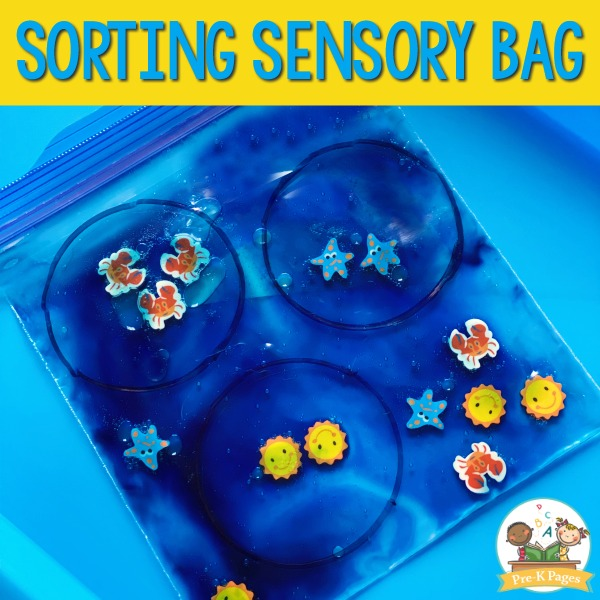 Sensory Bag Ideas for Preschool